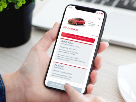 Schedule Car Service Online